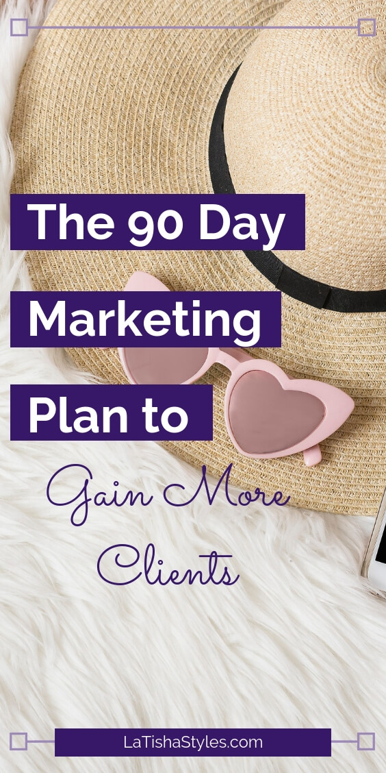 90 day marketing plan gain coaching clients