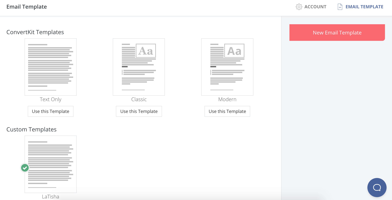 convertkit email templates 2