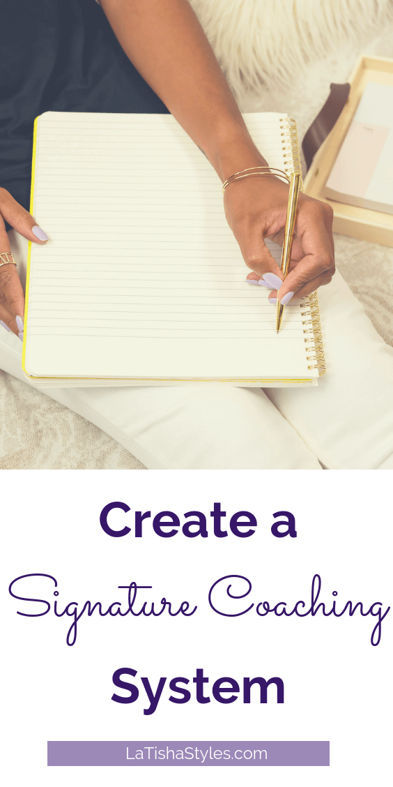 Pinterest Create a Signature Coaching System