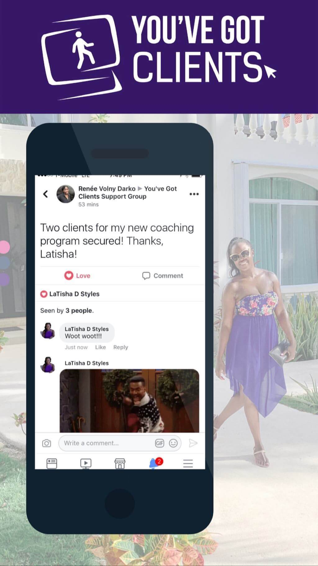 two new group coaching clients youve got clients