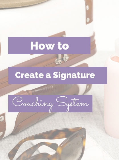 create a signature coaching system