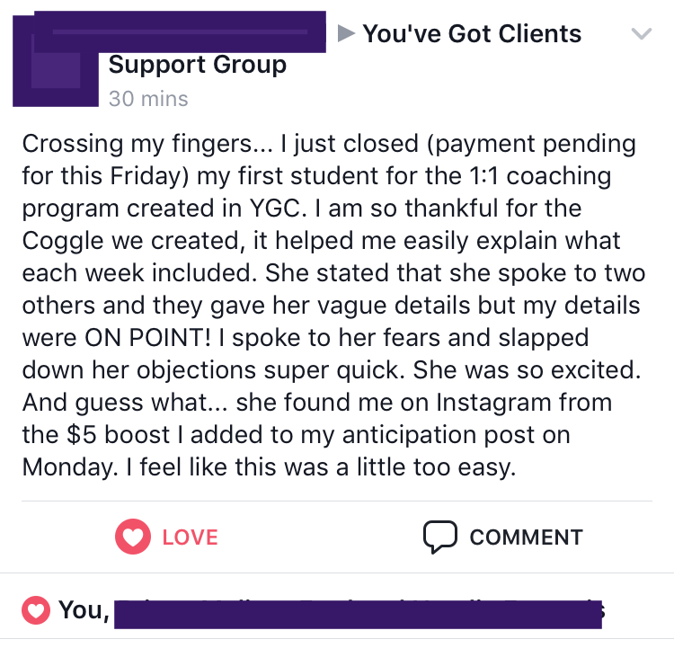 sales call success new clients