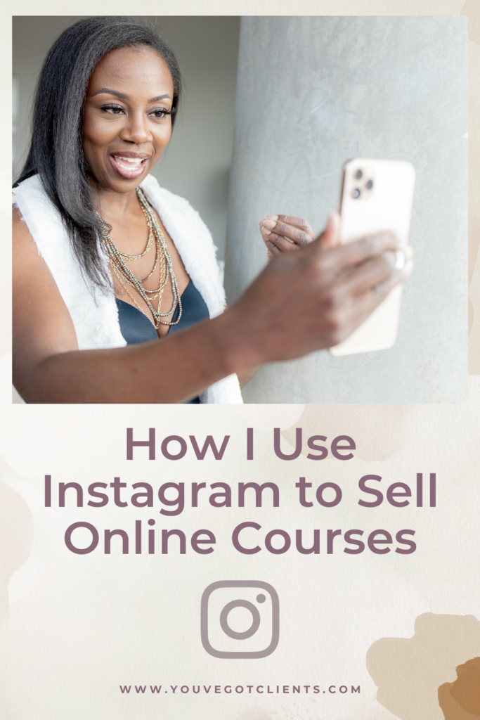 How I Use Instagram to Sell Online Courses