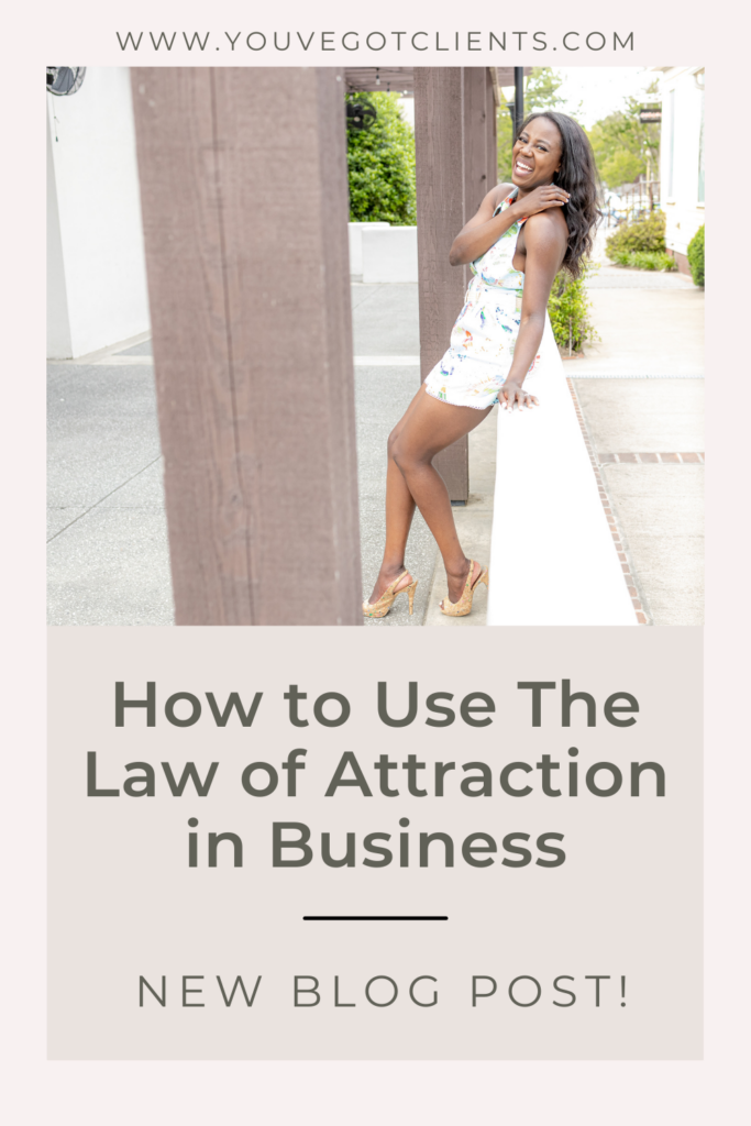 How to use the law of attraction in business