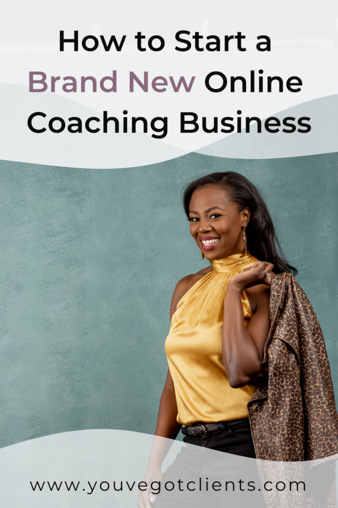 how to start on online coaching business