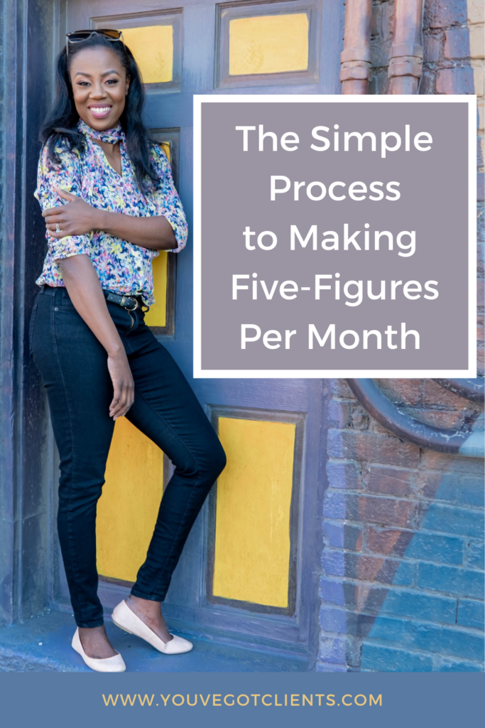 The simple process of making five-figures per month