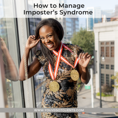How To Manage Imposter's Syndrome