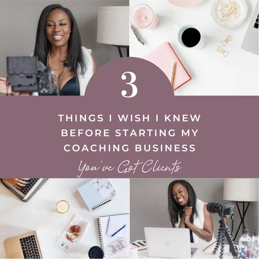 three things I wish I knew image