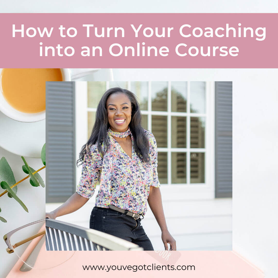 Turn Coaching into online course image